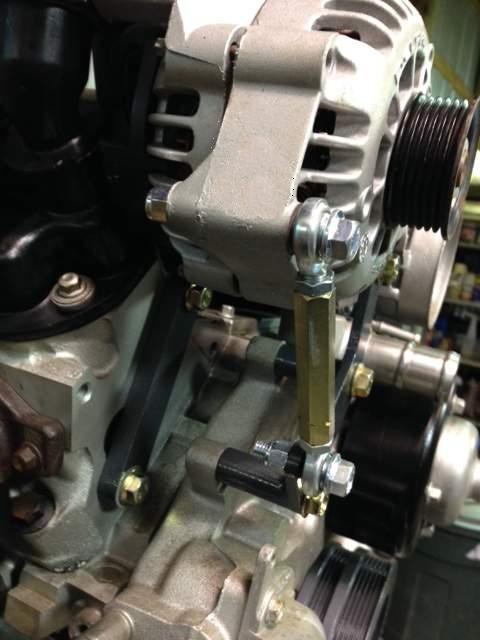 Ls1 Alternator Relocation Bracket Kit